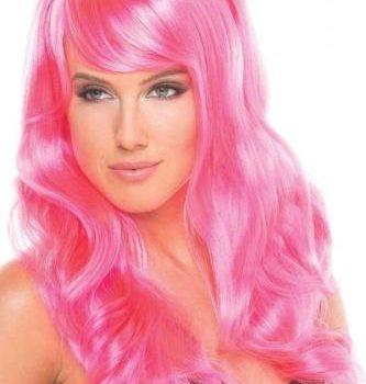 Burlesque Pruik - Roze
