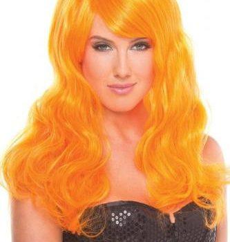 Burlesque Pruik - Oranje