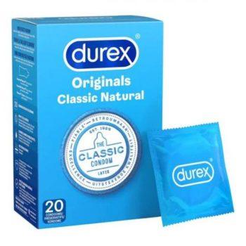 Durex Classic Natural 20st
