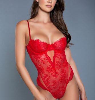Ariella Kanten Body - Rood